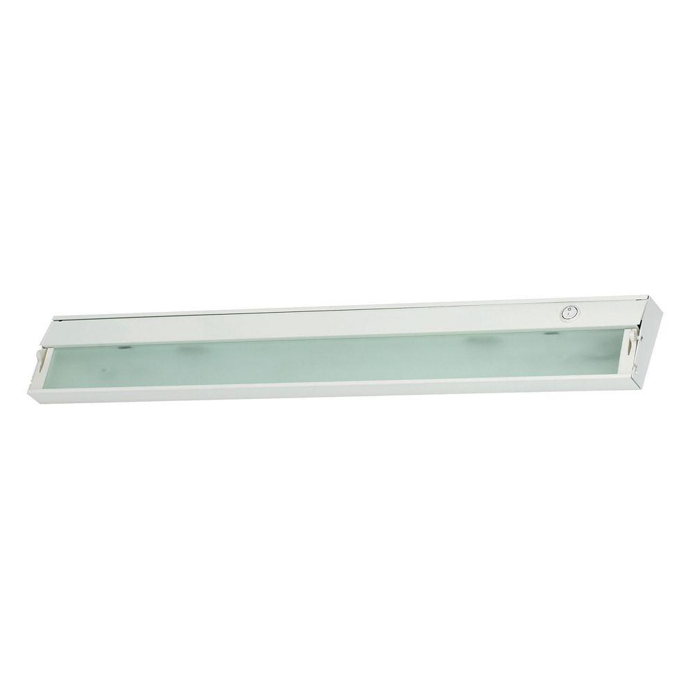 Home Depot Cabinet Lighting: Titan Lighting ZeeLite 4 Lamp Cabinet Light In White And