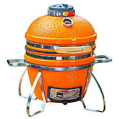 Cadet Kamado Charcoal Grill à Orange