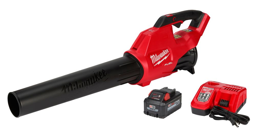 Milwaukee Tool M18 FUEL 120 MPH 450 CFM 18V Lithium-Ion Brushless Cordless Handheld Blower Kit with 9.0 Ah Battery