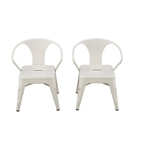 Kids Space Chairs - White