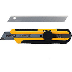 DEWALT 18mm Single Blade Snap Off Knife with Baldes