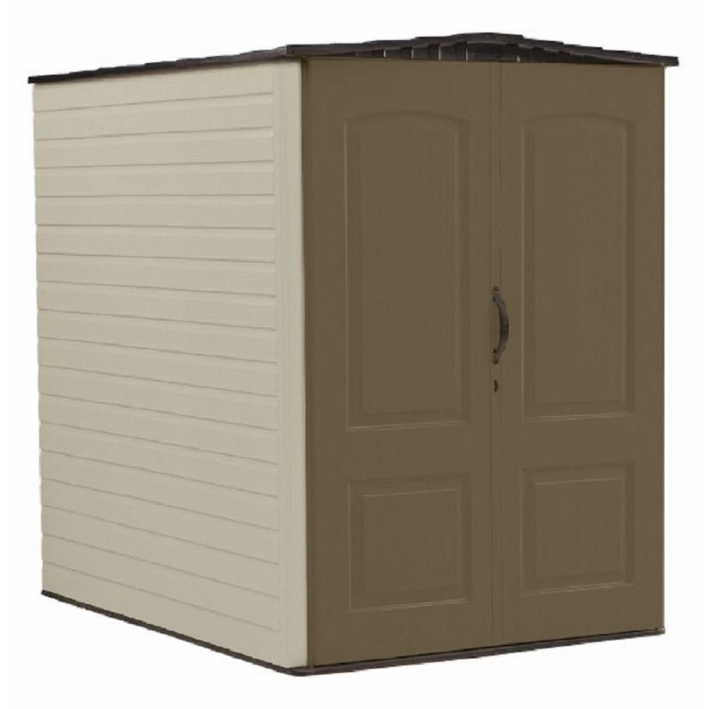 Rubbermaid Big Max 6 ft. 3-inch x 4 ft. 8-inch Plastic Shed
