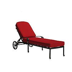 Ophelia Chaise longue avec coussin