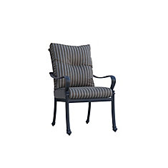 Panacea High Back Patio Dining Chair with Cushion