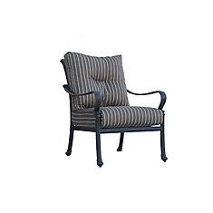 Panacea High Back Patio Club Chair with Cushions