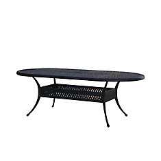 Panacea 42-inch x 87-inch Oval Patio Dining Table