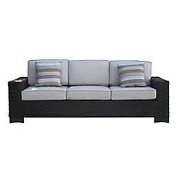 ONSIGHT Hestia Wicker Patio Sofa