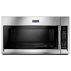Maytag 1.9 cu. ft. Over the Range Convection Microwave in Fingerprint Resistant Stainless Steel
