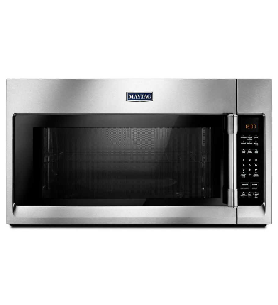 30-inch W 2.0 cu. ft. Over the Range Microwave with Sensor Cooking in Stainless Steel