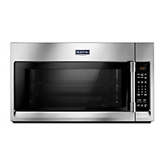2.0 cu. ft. Over the Range Microwave in Fingerprint Resistant Stainless Steel with Sensor Cooking