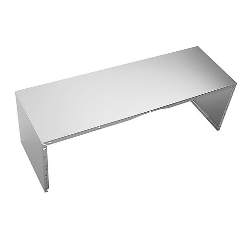 Full Width Duct Cover - 36 Inch  Stainless Steel