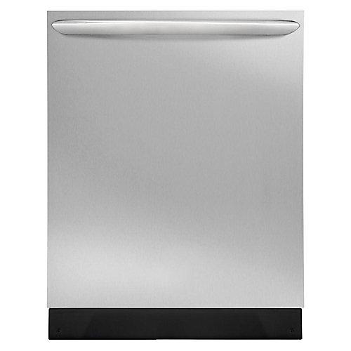 Lave-vaisselle à cuve haute encastrée à commande supérieure de 24 po en acier inoxydable anti-salissure - ENERGY STAR®