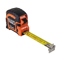 Klein Tools 7.5 M Double Hook Magnetic Tape Measure