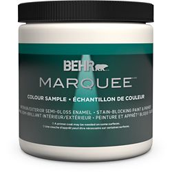 Behr Marquee Marquee 237mL Deep Base Semi-Gloss Interior Paint Sample with Primer