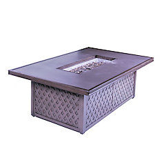 GRC Table Top Gas Fire Pit Table