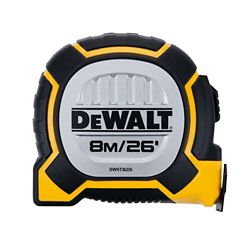 DEWALT DWHT36226S 26 Feet/ 8M XP Tape Measure