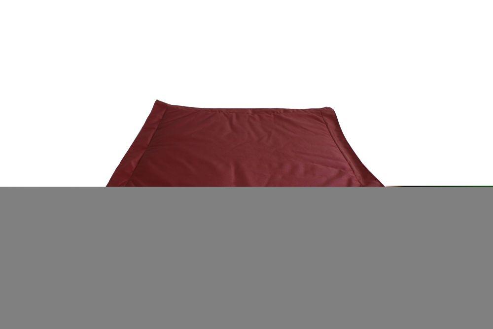 Ace Casual Furniture Outdoor Bean Bag Ottoman in Marsala