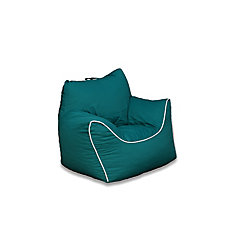 Emerald Green Bean Bag Chair With Removable Cover