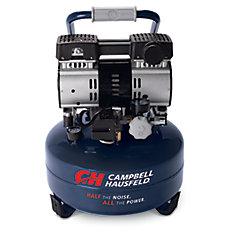 Compresseur d'air silencieux DC060500, 6 L, crêpe
