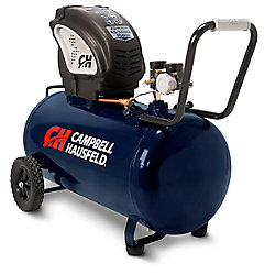 Campbell Hausfeld 75L 90 PSI Horizontal Oil-Free Air Compressor