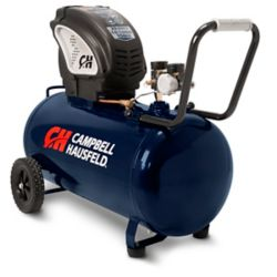 Campbell Hausfeld Le compresseur dair horizontal Campbell Hausfeld sans huile de 76L (20 gal) (DC130010)