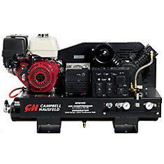 Combination Unit, 10-Gallon 14CFM Compressor, 5000W Generator GX390 Honda (GR2100)