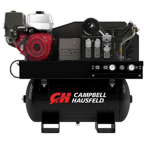 Campbell Hausfeld Combination Unit, 30-Gallon 14CFM Compressor, 5000W Generator GX390 Honda (GR2200)