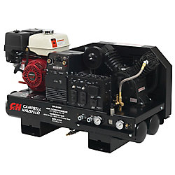 Campbell Hausfeld Combo Unit, 10 Gal Compressor 5000W, Generator 180A Welder, GX390 Honda (GR3100)