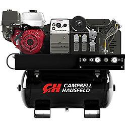 Campbell Hausfeld Combo Unit, 30 G 14CFM Compressor 5000W Generator 180A Welder GX390 Honda (GR3200)