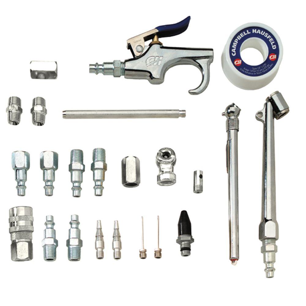 Campbell Hausfeld Kit 25 Piece Accessory with Case (MP520010AV)