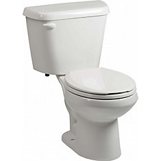 Altima 2-Piece Single-Flush Round Bowl Toilet