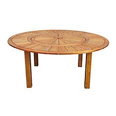 Roulette 130 cm Patio Table