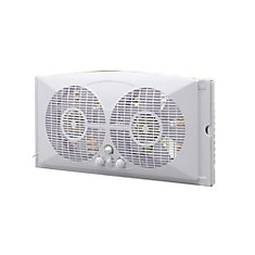 9-inch Twin Window Fan