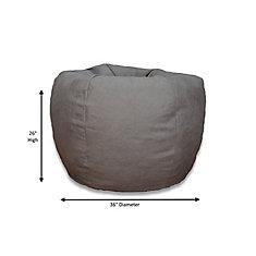 XLarge Bean Bag Chair in Brushed Denim
