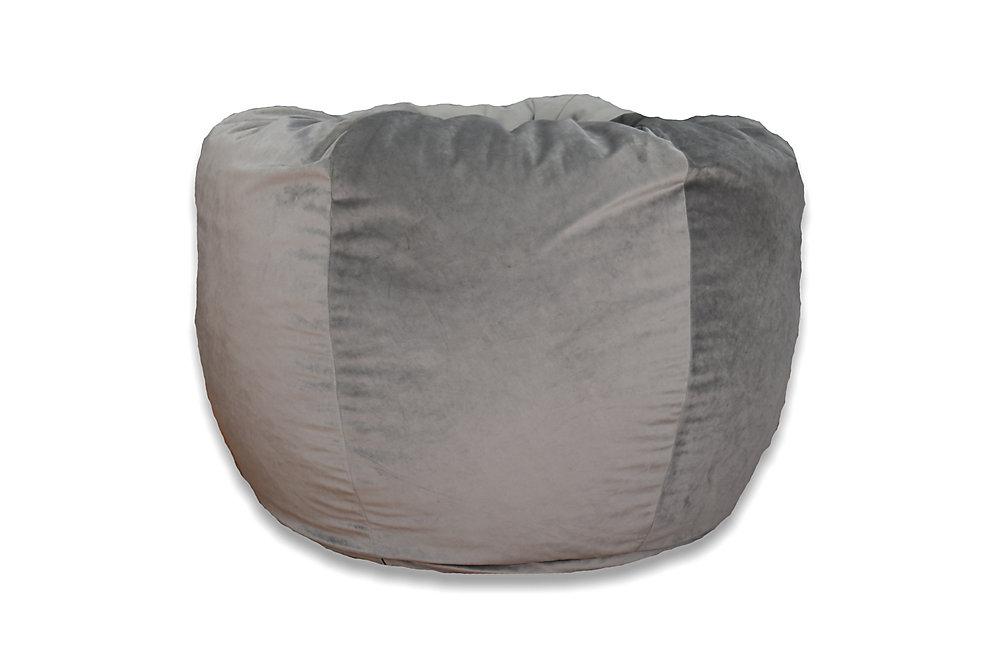 xlarge washed velvet bean bag