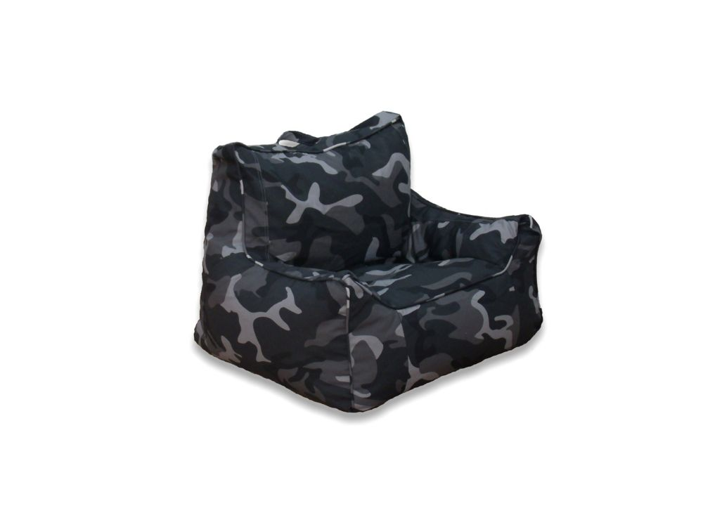 Ace Casual Furniture Soft Structure Chair In Charcoal Camo The