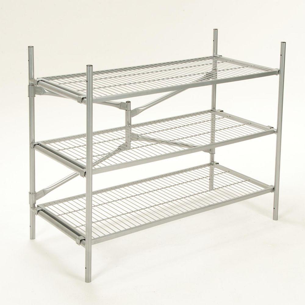 shelving units storage racks the home depot canada. Black Bedroom Furniture Sets. Home Design Ideas
