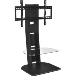 Dorel Galaxy TV Stand for 50-inch TVs with Mount in Black