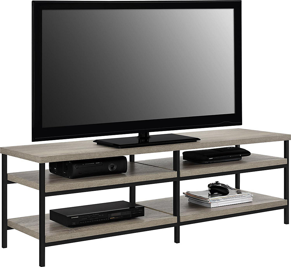Elmwood 100 lb. Capacity Entertainment Console for 60-inch TVs in Sonoma Oak