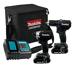 MAKITA Brushless 18V Li-Ion Sub-Compact Drill and Driver Combo Kit (2-Piece)