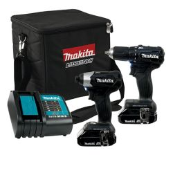 MAKITA Brushless 18V Li-Ion Sub-Compact Drill and Driver Combo Kit (2-Piece)