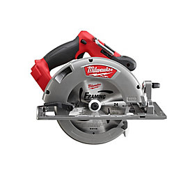 Milwaukee Tool M18 FUEL 18-Volt Brushless Cordless 7-1/4-inch Circular Saw Kit with 9.0Ah Battery and (1) Blade