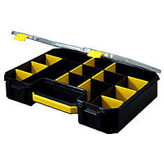 17 Compartment Professional Deluxe Organizer, Yellow