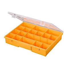 17 Compartment Portable Storage Box ...  sc 1 st  The Home Depot Canada & Stack On 17 Compartment Portable Storage Box Yellow | The Home ...