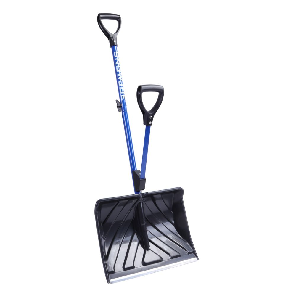 Snow Joe Shovelution 18-inch Strain-Reducing Snow Shovel with Spring-Assist Handle