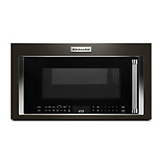 1.9 cu. ft. Over the Range Convection Microwave in Black Stainless Steel