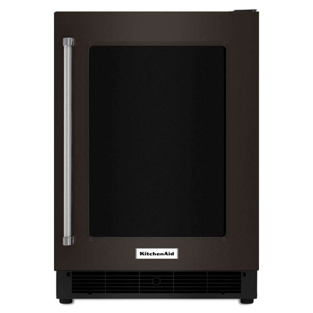 Kitchenaid Black Stainless 24 Inch Undercounter
