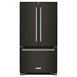 36-inch W 20 cu.ft. French Door Refrigerator in Black Stainless Steel, Counter-Depth - ENERGY STAR®