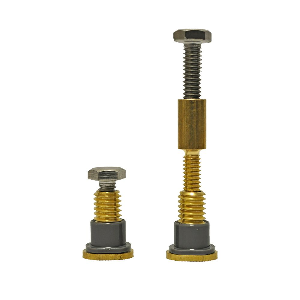Next by Danco Zero Cut Bolts Toilet Mounting Bolts 2-Pack