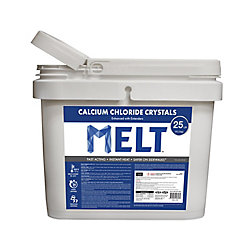Snow Joe MELT 25 lb Seau de produit à cristaux de chlorure de calcium en sac réutilisable